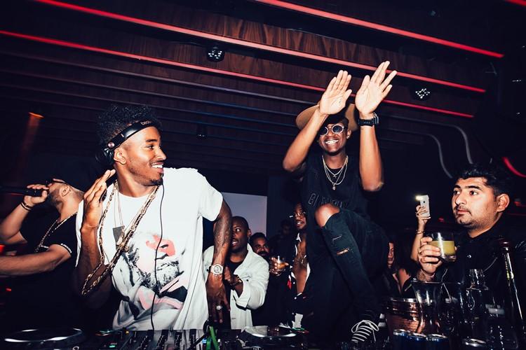 1OAK nightclub Dubai djs partying having fun