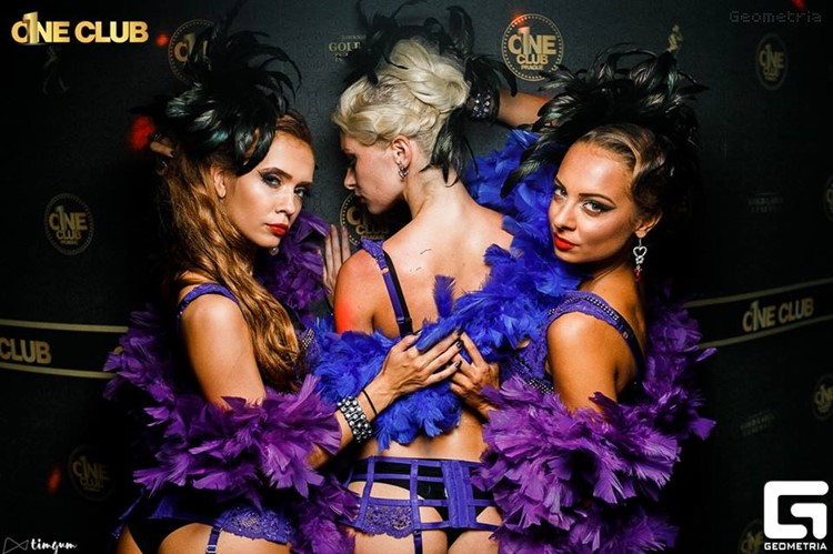 1 One Club nightclub Prague party event nightout sexy exotic dancers adults blondes