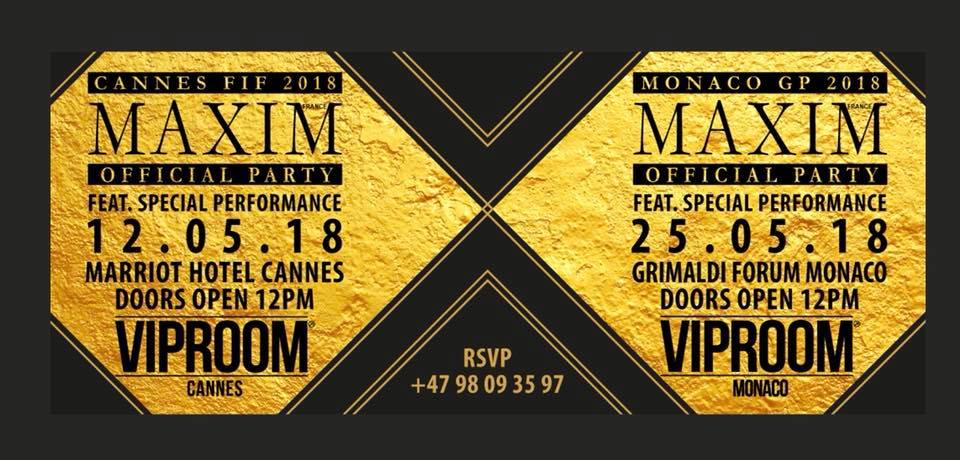 VIP Room in Cannes 24 May 2018