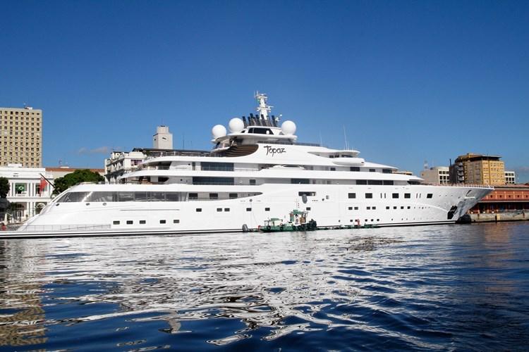 Leonardo-DiCaprio's-yacht-Cannes