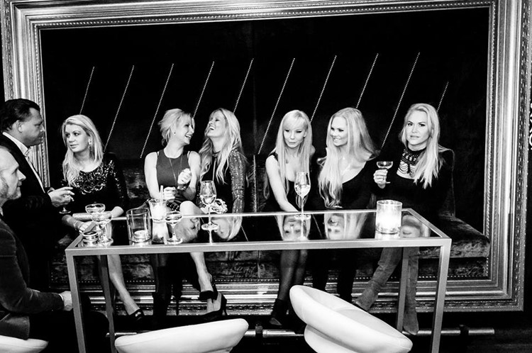 8ight Eight nightclub Gothenburg drinks girls party event