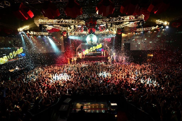 AgeHa nightclub Tokyo