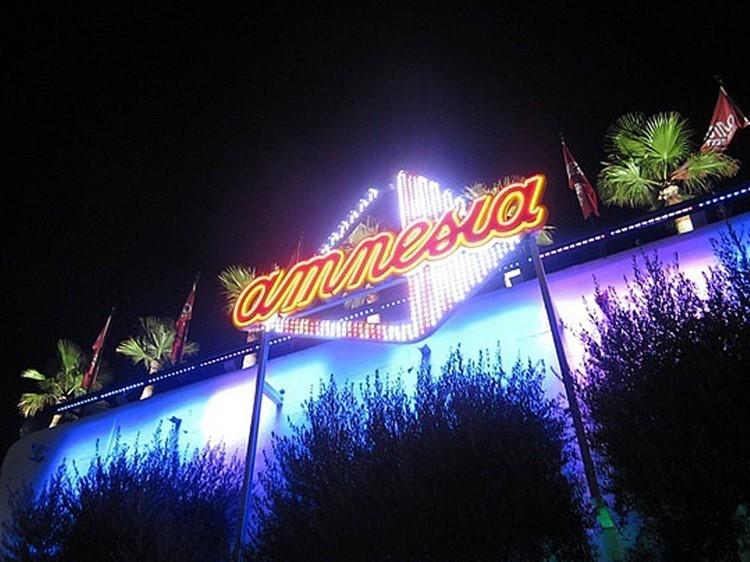Amnesia nightclub Ibiza
