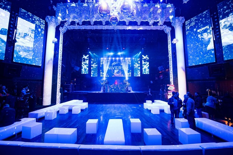 Party at Avalon VIP nightclub in Los Angeles