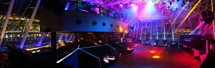 Party at Avalon VIP nightclub in Singapore