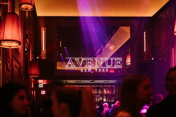 Avenue nightclub New York luxury club