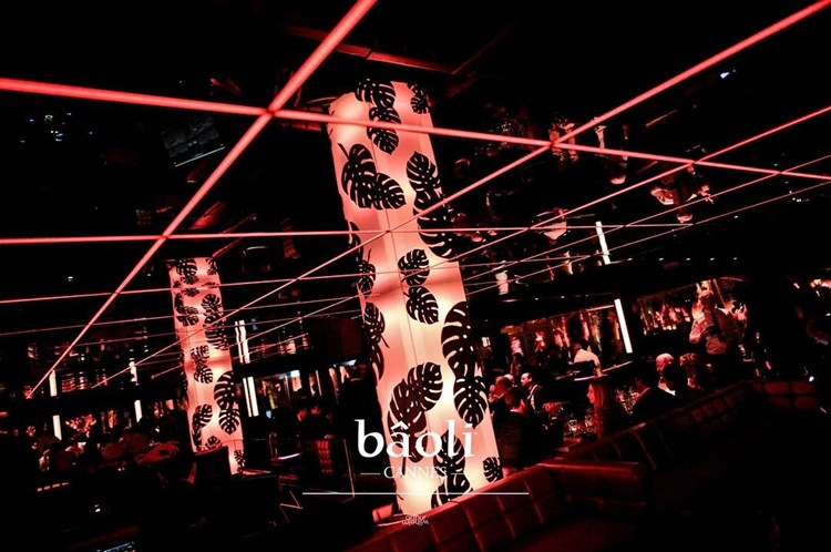 Party at Baoli VIP nightclub in Cannes. Find promoters for guest list in Clubbable
