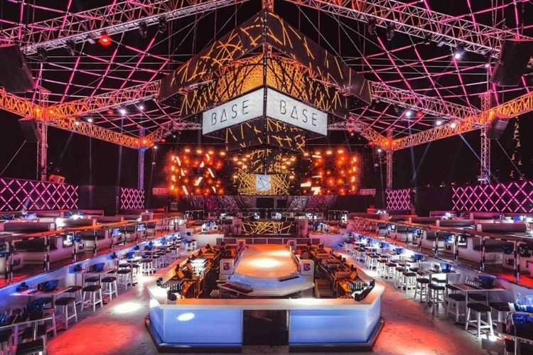 Base Club nightclub Dubai
