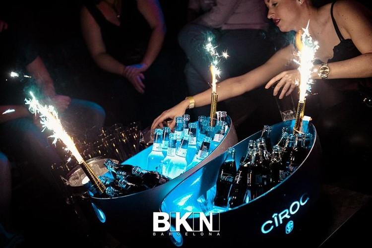 bikini nightclub barcelona ciroc coca cola champagne alcohol table booking bottle service