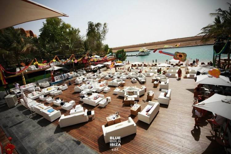 Beach Lounge at Marlin Ibiza Dubai