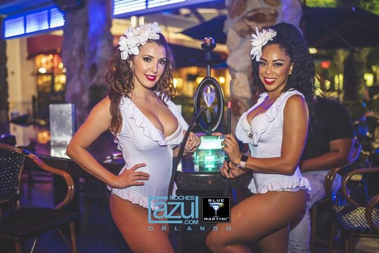 Blue Martini club Orlando party lounge sexy girls