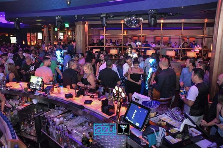 Blue Martini club Orlando party lounge bar