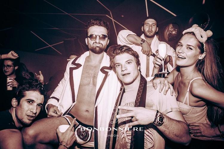bonbonniere nightclub london exotic dancers drinking alcohol men and girls having fun wearing underwear