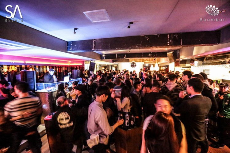 Boombar Seoul guest list & table bookings