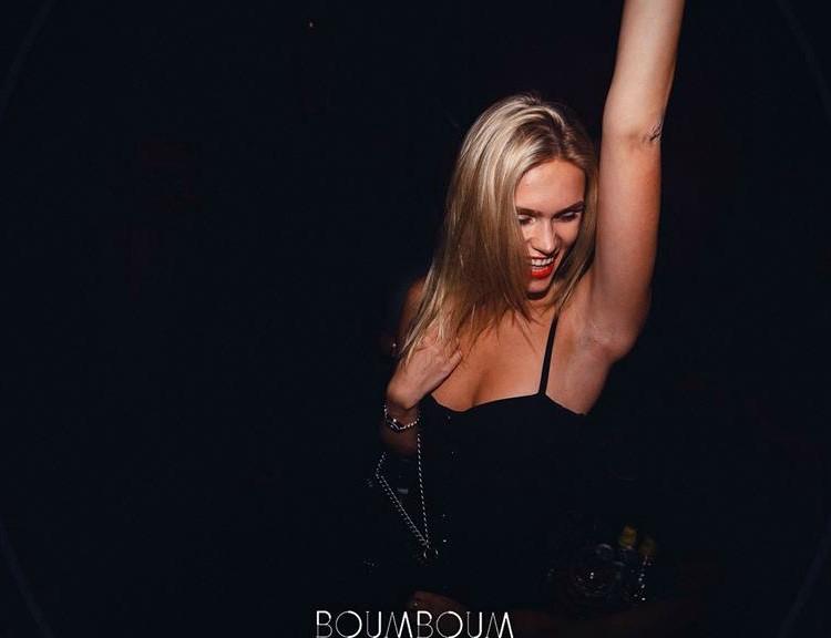 Party at Boum Boum Club VIP nightclub in Paris