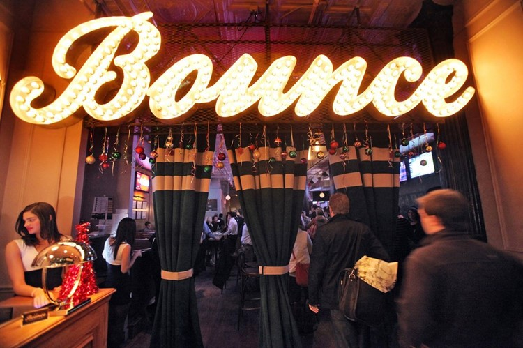Party at Bounce Sporting Club VIP nightclub in New York. Find promoters for guest list in Clubbable