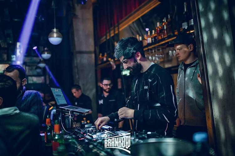 Brankow nightclub Belgrade djs mixing music fun party dance floor drinks