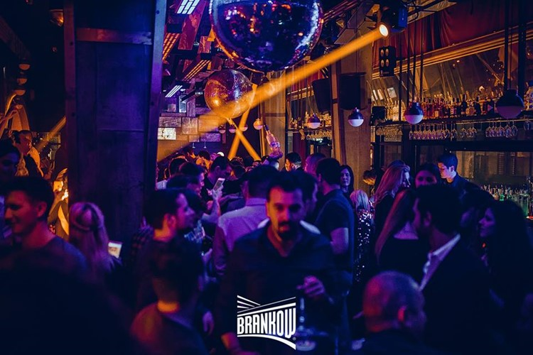Brankow nightclub Belgrade crowd fun night party event