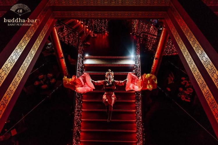 Buddha Bar nightclub Saint Petersburg exotic dancer luxury club