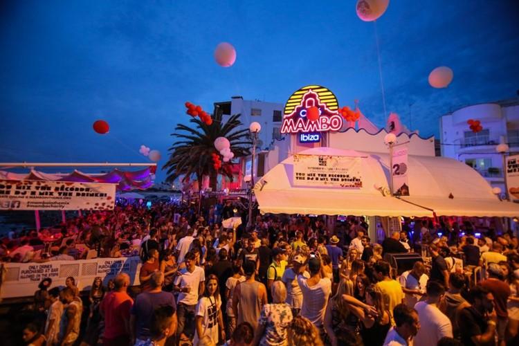Café Mambo club Ibiza big event