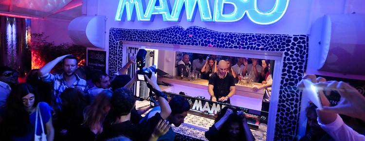Café Mambo club Ibiza famous dj La Skimal at Essential closing