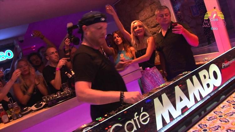 Café Mambo club Ibiza dj mixing