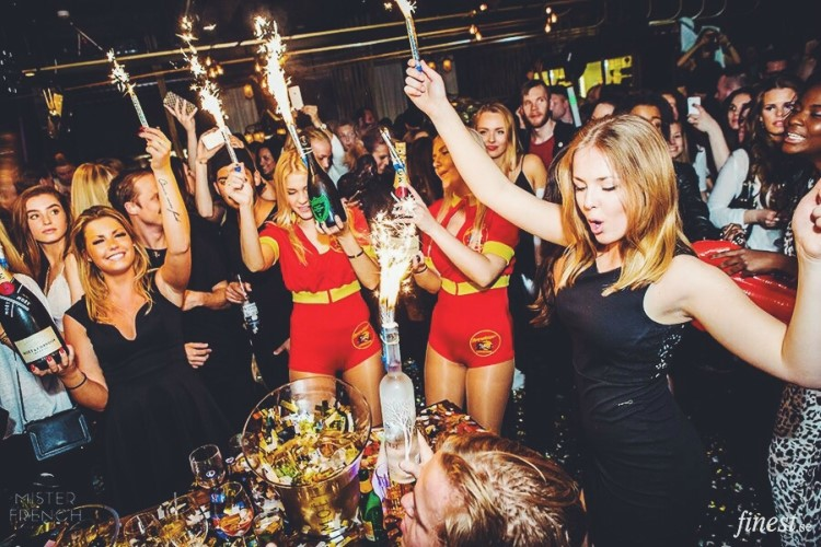 Party at Café Opera VIP nightclub in Stockholm. Find promoters for guest list in Clubbable