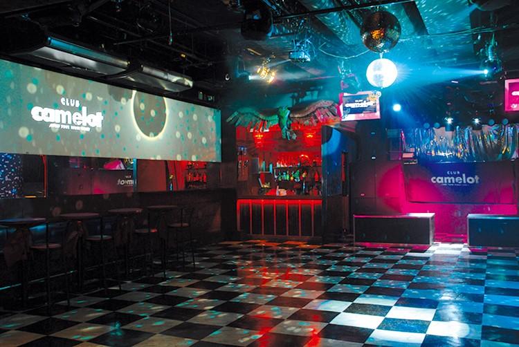 Camelot nightclub Tokyo