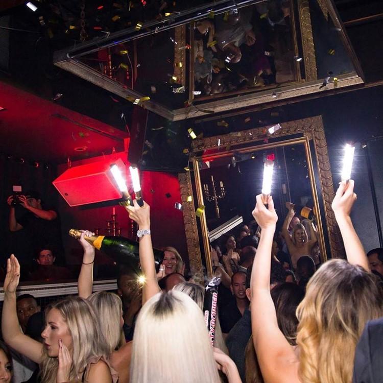 Candleroom Club nightclub Dallas party lights girls having fun