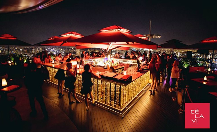 Party at Ce La Vi VIP nightclub in Singapore. Find promoters for guest list in Clubbable