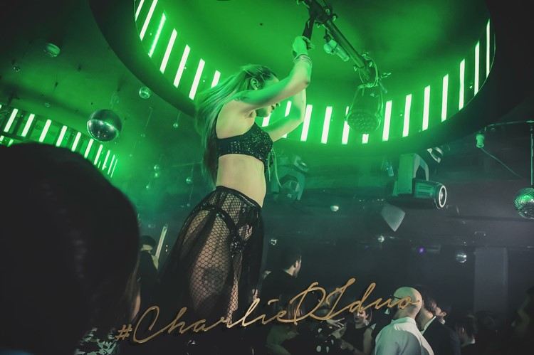 Party at Charlie Mayfair VIP nightclub in London. Find promoters for guest list in Clubbable