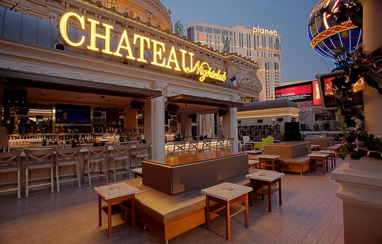 Party at Chateau VIP nightclub in Las Vegas