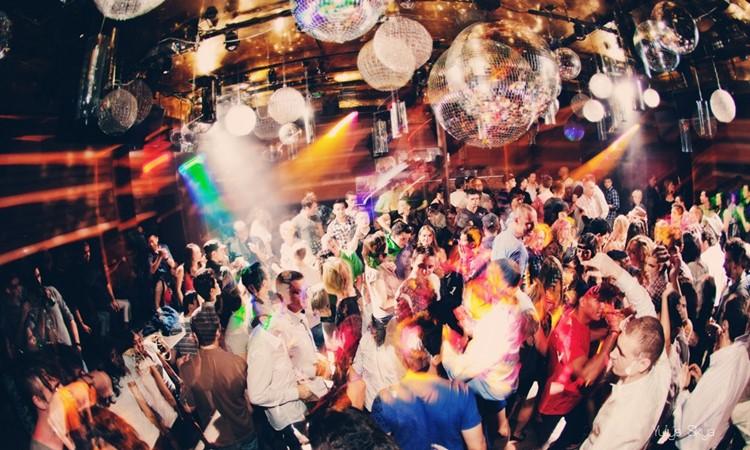 Cielo nightclub New York people partying having fun dancing