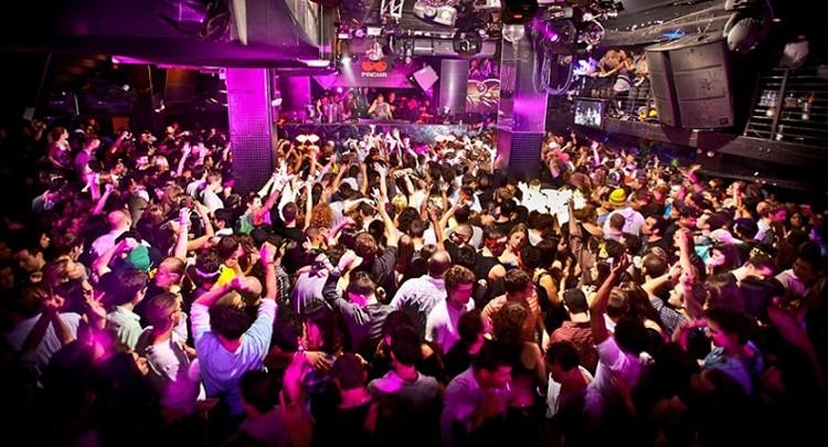 Cielo nightclub New York crowd having fun people dancing partying