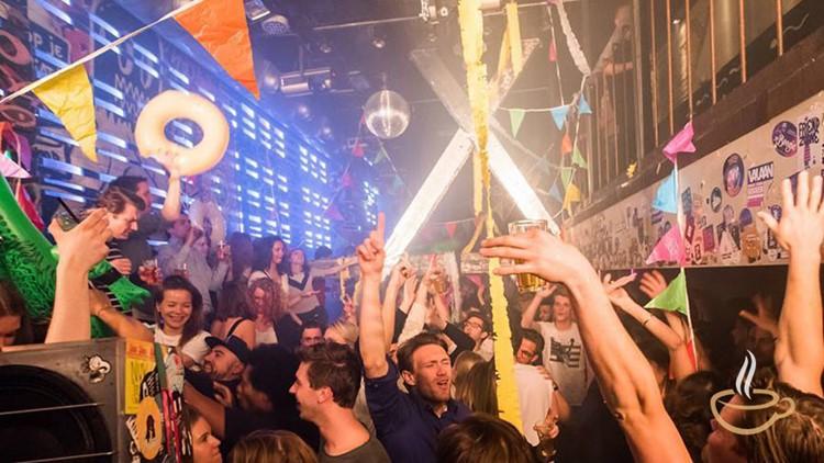 Nyx nightclub Amsterdam party