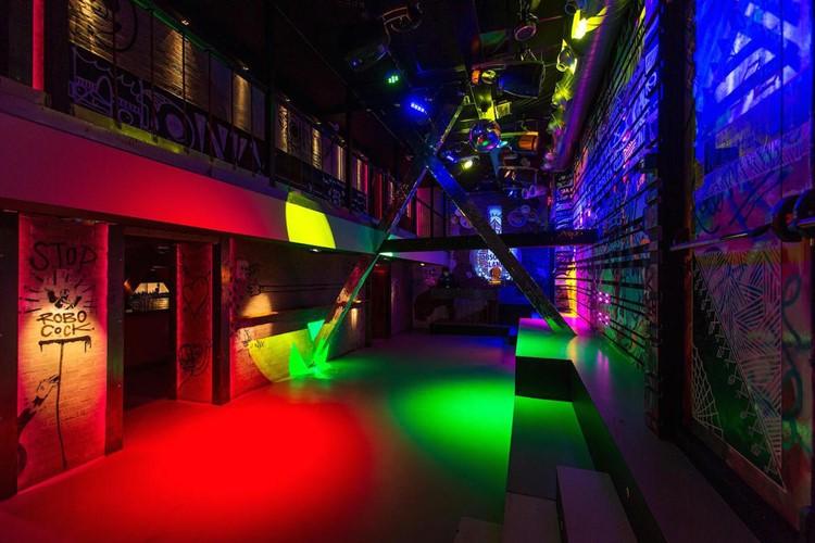 Nyx nightclub Amsterdam view of empty club