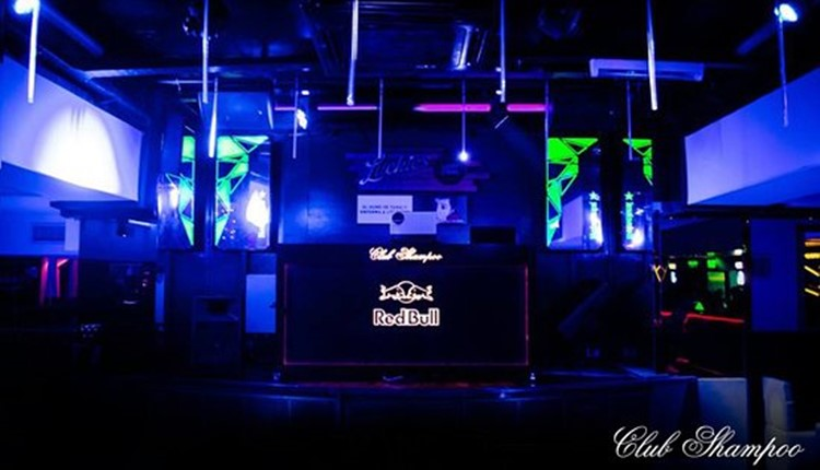 Club Shampoo nightclub Buenos Aires view of the stage
