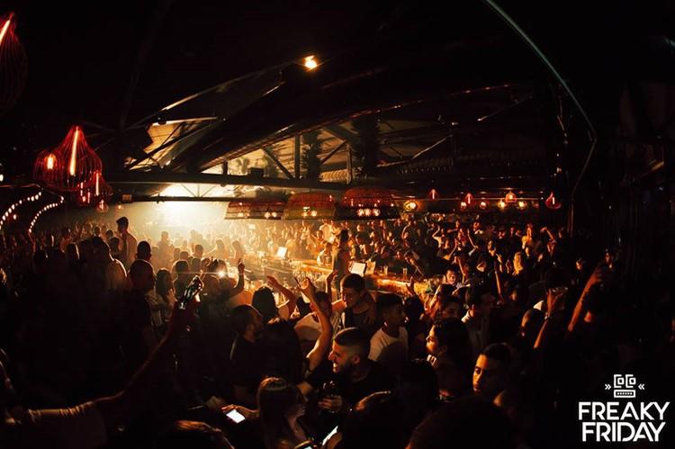 Coco nightclub Tel Aviv crowd partying full night