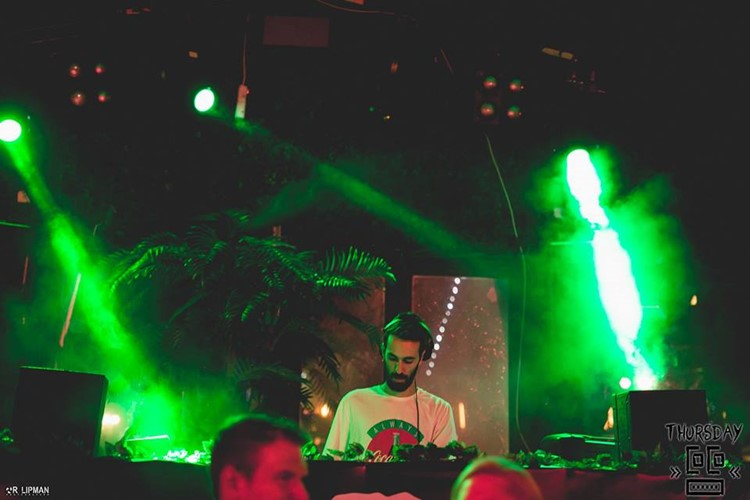 Coco nightclub Tel Aviv dj mixing music