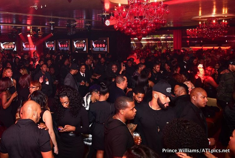 Compound Club nightclub Atlanta people partying drinks alcohol fun