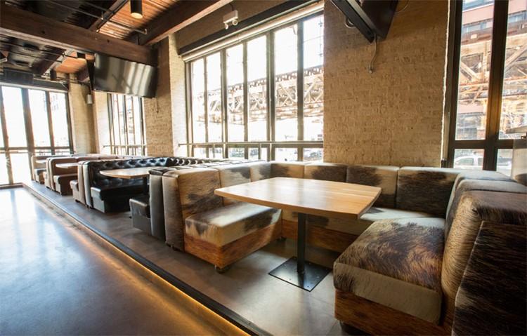 Cowboy nightclub Chicago lounge area