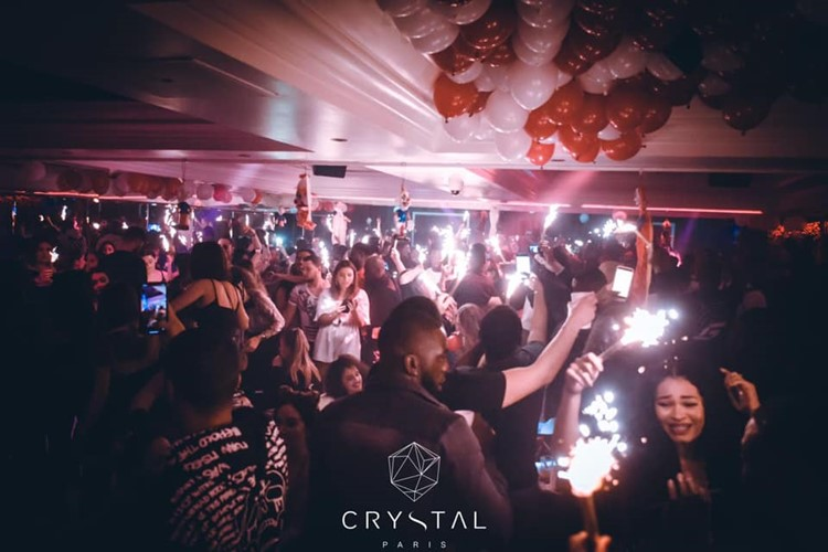 Crystal Lounge nightclub Paris