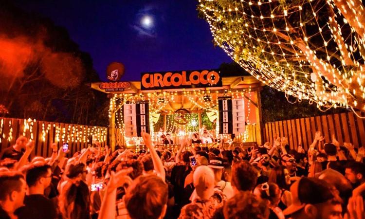 DC10 nightclub Ibiza outdoor event big crowd Circoloco party
