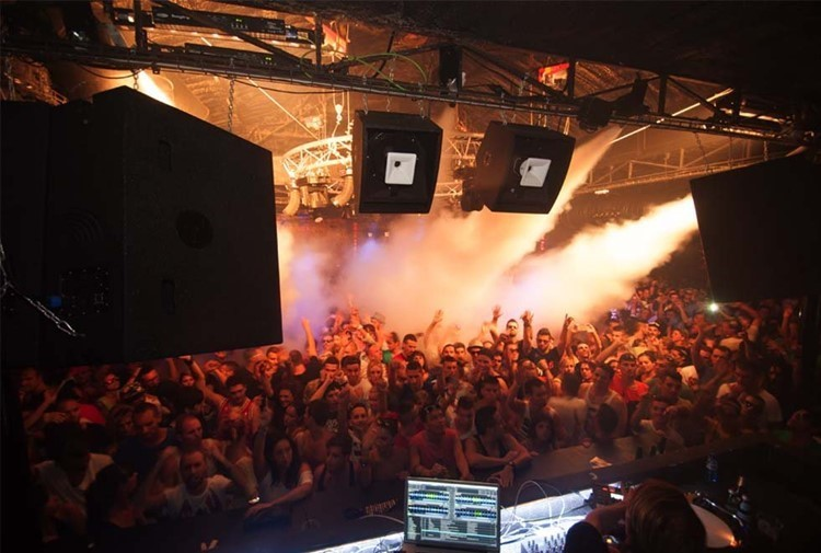 DC10 nightclub Ibiza