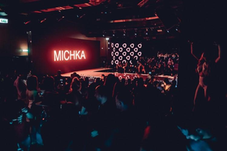 DOME nightclub Dubai Michka show