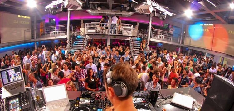 Docks Club nightclub Lisbon
