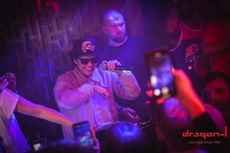Dragon-i nightclub Hong Kong famous singer Bruno Mars concert