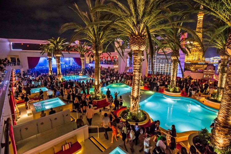Party at Drais Beachclub VIP nightclub in Las Vegas. Find promoters for guest list in Clubbable