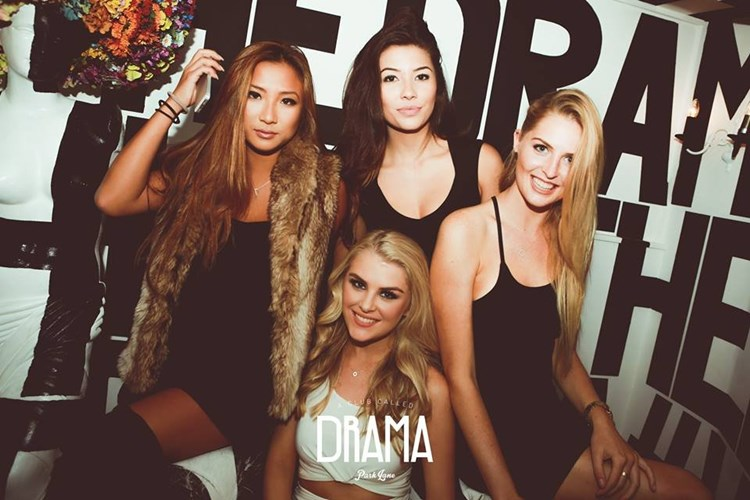 Party at Drama VIP nightclub in London