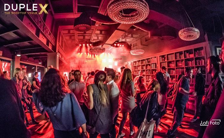 Duplex nightclub Prague events party club crowd partying